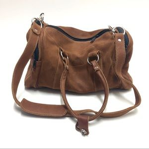 RB Costa Rica Brown Leather Duffle Bag